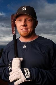 Chris Shelton. Cousin of Alex Smith. Fan of home runs. R.I.P.