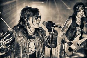 The L.A. Guns were highly touted.